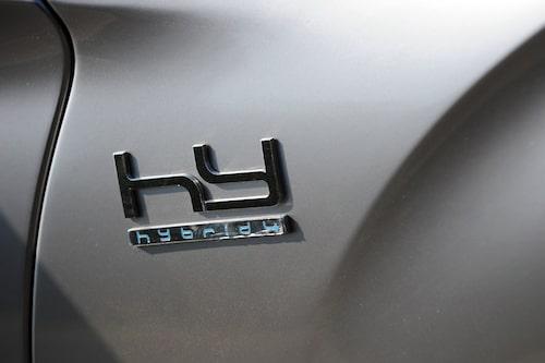 Dieselhybrid under skalet.