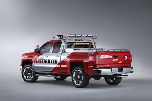 Chevrolet Silverado Firefighter Concept