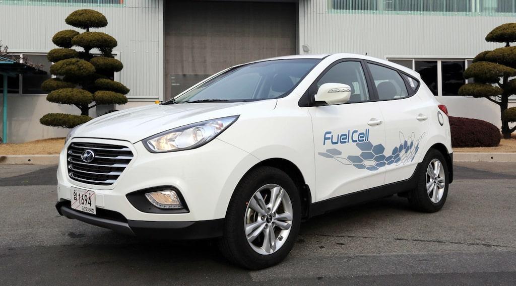 Hyundai ix35 FCEV bränslecellsbil