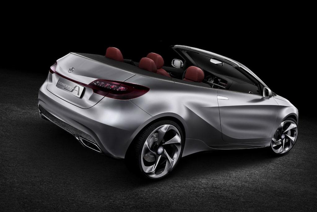 Mercedes A-klass Cabriolet
