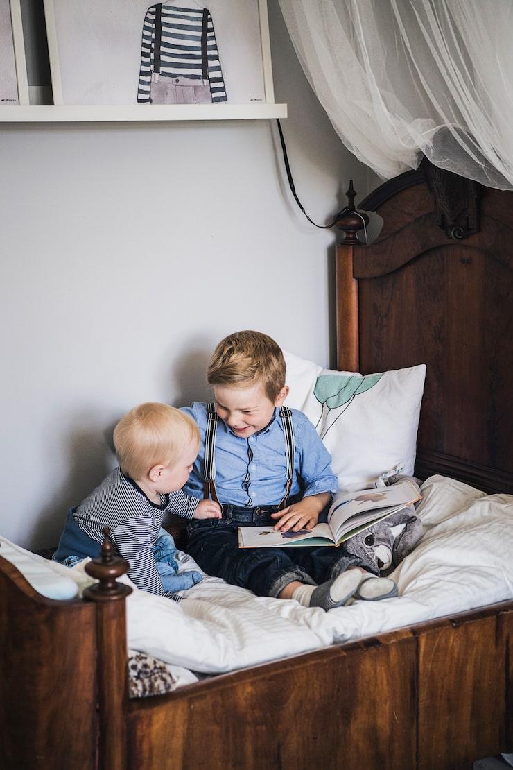 Lycka är att ha en storebror!