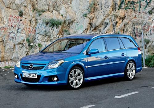 Provkörning av Opel Vectra OPC