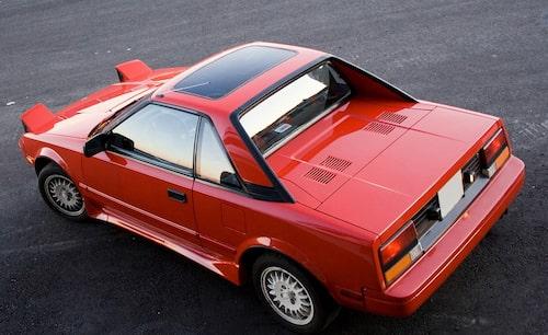 Första generationen Toyota MR2 kom 1984.