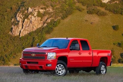 GM fullsizepickup, här i form av Silverado