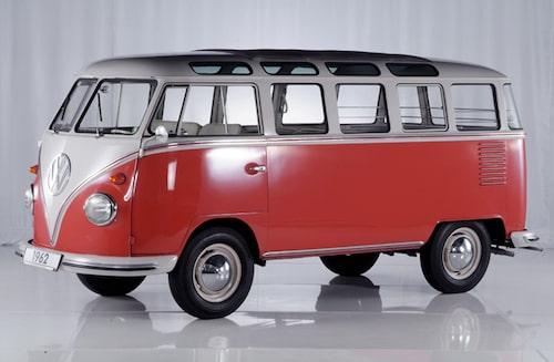 Volkswagen T1 Samba, 1962.