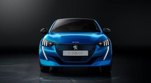 Eldrivna Peugeot 208 kommer till Sverige i vår och kostar från 359 900 kronor.