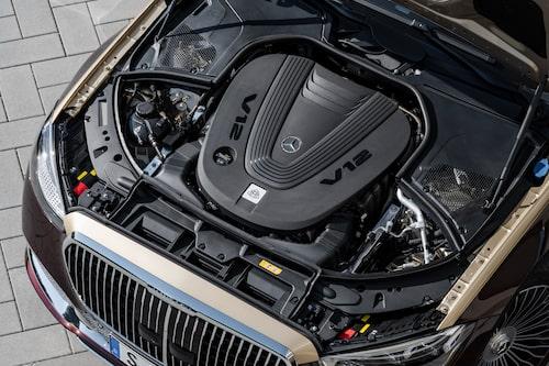 V12-motor, till mångas förtret.