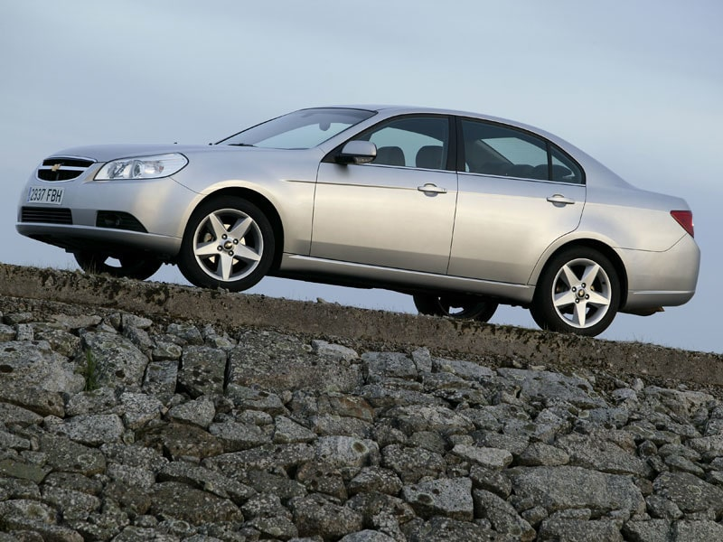 Provkörning av Chevrolet Epica 2,0D