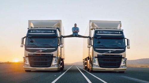 Hyllad som få; reklamfilmen The Epic Split med Jean-Claude Van Damme.