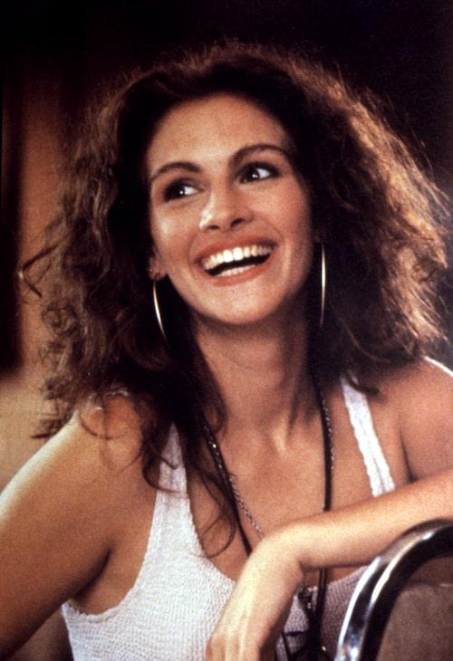 Julia Roberts som Vivian i Pretty Woman från 1990.