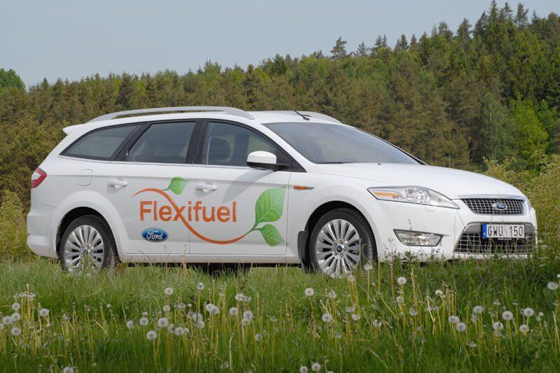 Provkörning av Ford Mondeo 2,0 Flexifuel