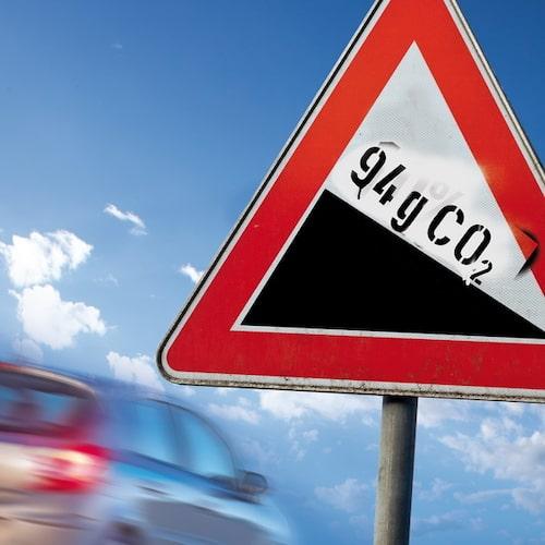 ...94 gram koldioxid per kilometer...