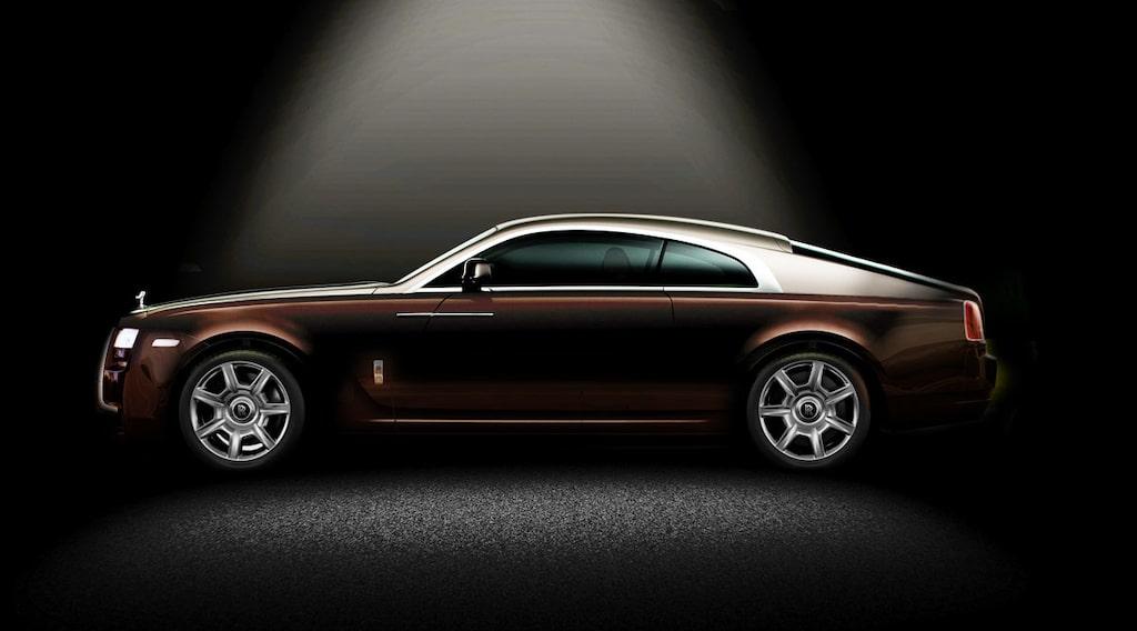 Så här kan Rolls-Royce Wraith komma att se ut i helfigur. Illustration: Erik Andren