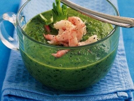 Grön och god soppa