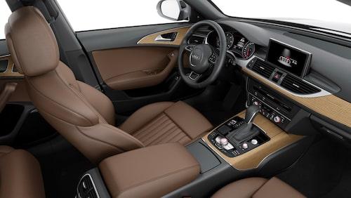 Insidan är sig lik. Här ser vi Audi A6 Avant.