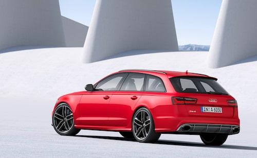 Audi RS6 Avant är högst upp i näringskedjan.