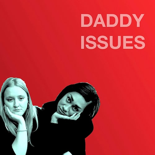 Julia och Julia i podcasten Daddy issues.