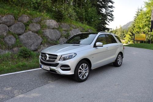 ML blir GLE med den nya Mercedes-terminologin.