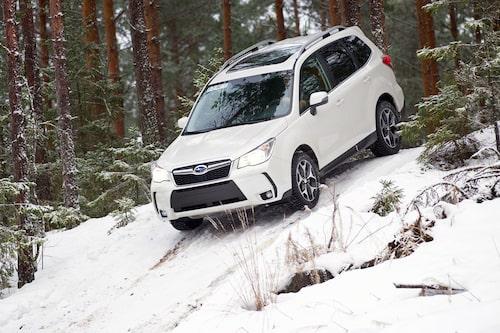 Reporter Borglund är nöjd med resultatet. Subaru har ryckt upp kvalitetskänslan avsevärt.