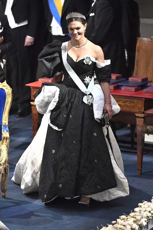 Kronprinsessan Victoria i Selam Fessahaye.