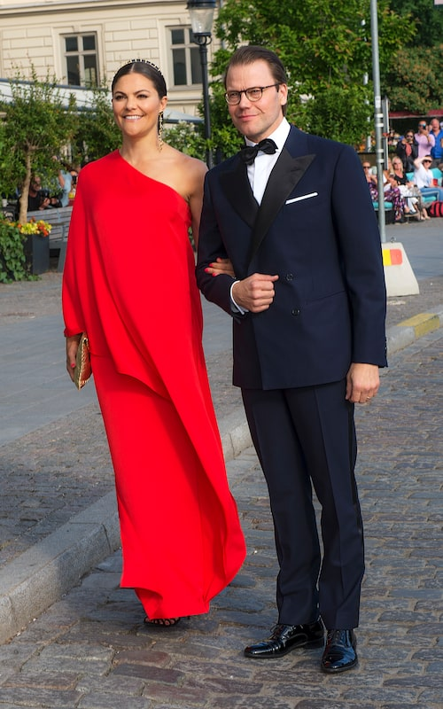 Victoria bar en klänning från Stylein till Polarpriset 2018.