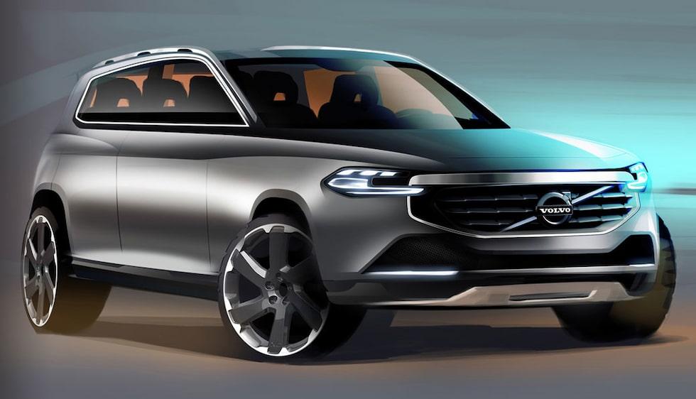 Nya Volvo XC90 årsmodell 2015