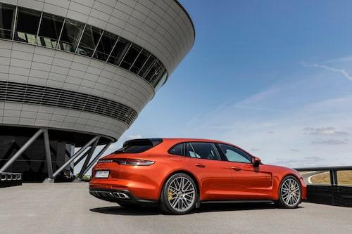 Porsche Panamera Turbo S Sport Turismo 2021 facelift