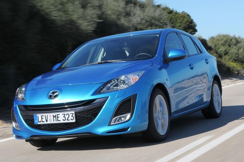 Provkörning av Mazda 3 1,6 DE