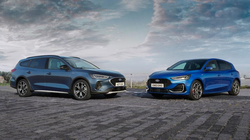 Ford Focus uppdateras inför 2022.