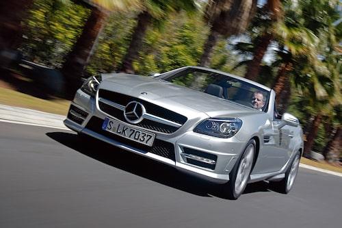 Nya Mercedes SLK är klart inspirerad av storebror SLS AMG.