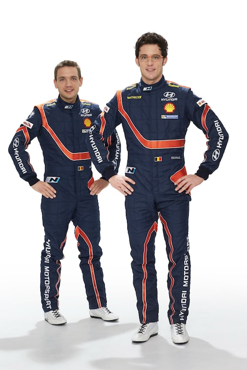 Thierry Neuville & Nicolas Gilsoul