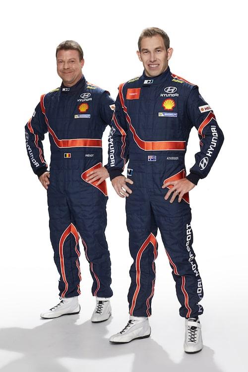 Chris Atkinson & Stéphane Prévot