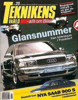 Teknikens Värld nummer 20 / 1993