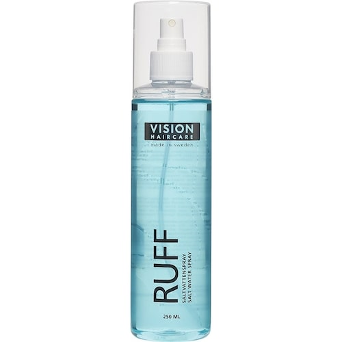 Recension av Ruff, 250 ml, Vision Haircaire saltvattenspray.