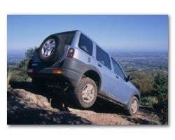 Provkörning av Freelander V6