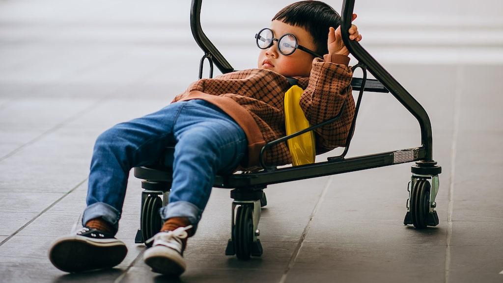När tröttheten kommer gör 2,5-åringen allt han inte får och det blir en massa konflikter.