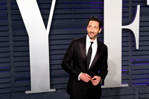 Skådespelare Adrien Brody: ful är han inte...