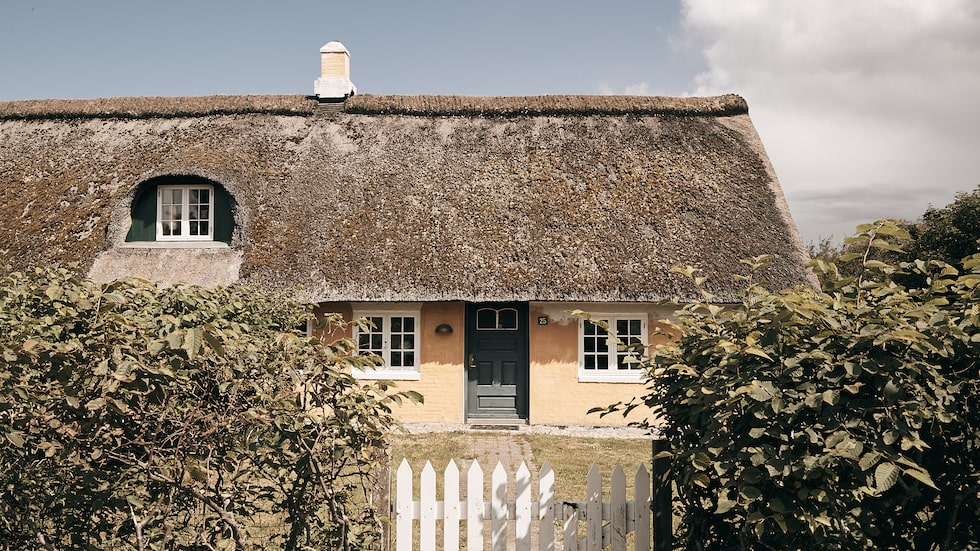 Huset i klassisk Fanøstil har numera blivit sommarställe åt en barnfamilj.
