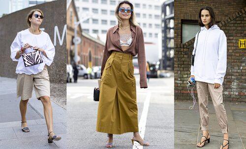 Till shorts, kjol eller hoodie –hur bär du dina sandaletter i sommar?