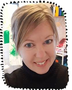 Annica Vedin, förskollärare på montessoriförskolan Pärltrappan.