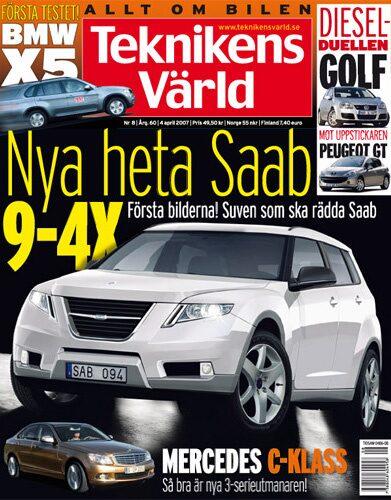 Teknikens Värld nummer 8 / 2007
