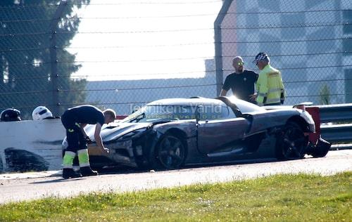 Det var i september som en Koenigsegg Agera R kraschade på Nürburgring vid förberedelserna inför vad som komma skall.