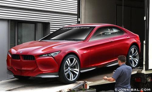 Vem vet, kanske bilen ser ut något i den här stilen. Bilen är avklädd i Photoshop av Jon Sibal.