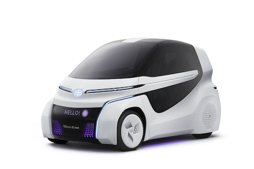 Toyota Concept-i Ride är helgjuten för...