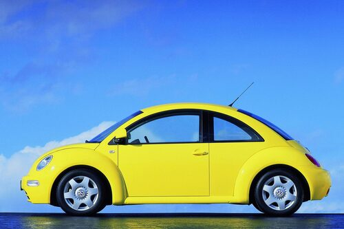 Volkswagen New Beetle, 1997-2011.