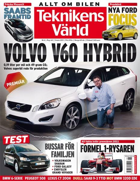Teknikens Värld nummer 6 / 2011