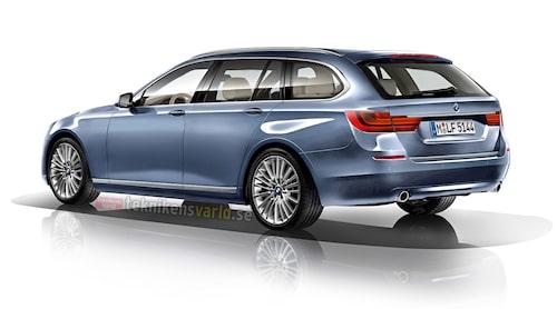 Nya BMW 5-serie Touring 2016