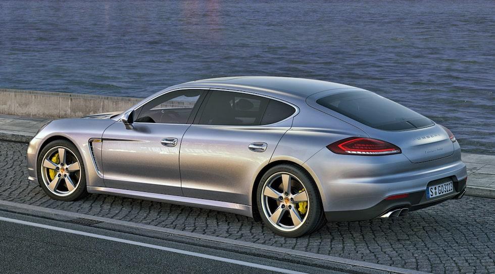 Porsche Panamera facelift 2014