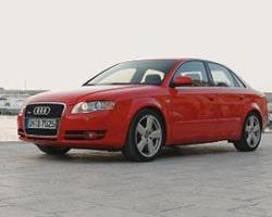Storkäftade Audi A4