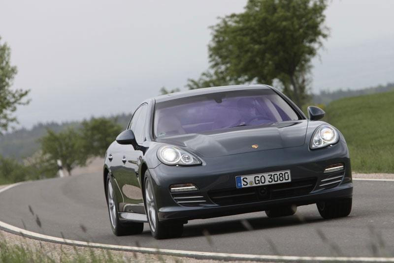 Provkörning av Porsche Panamera V6
